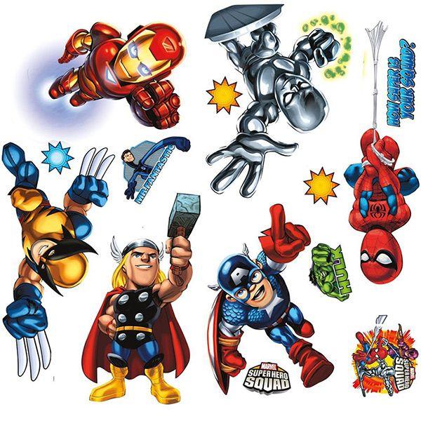 Все игры с любимыми героями мультфильмов и комиксов