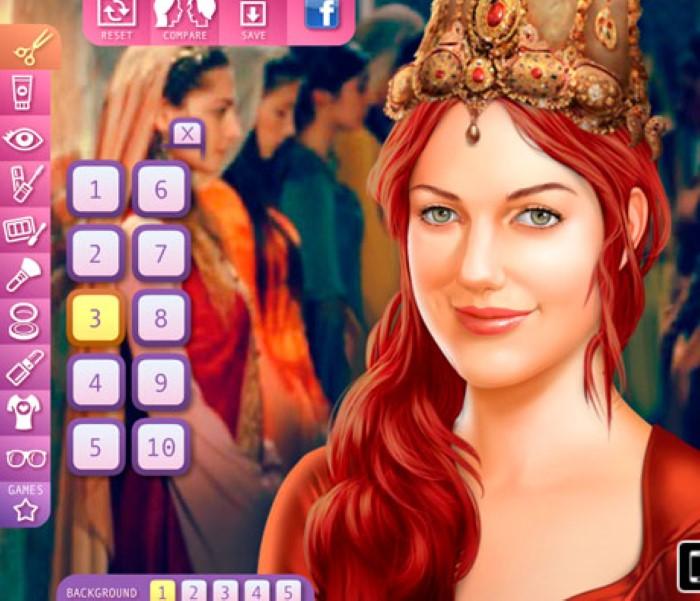 Игры с косметикой онлайн для девочек
