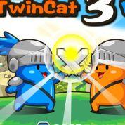 Коты играть на троих